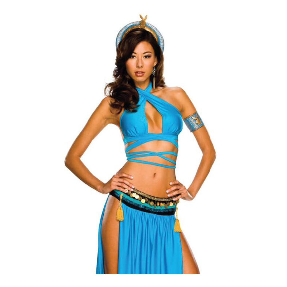 Ancient Egypt Feature Court Garment Cosplay Game Stage Costume Uniform