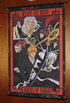 BLEACH ANIME WALL SCROLL MEMORIES OF NOBODY MOVIE NEW - $9.95