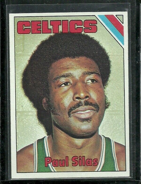 1975-76 TOPPS SET BREAK #8 PAUL SILAS CELTICS EX-MT FREE SHIPPING