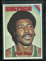 1975-76 Topps Set Break #8 Paul Silas Celtics EX-MT Free Shipping - $2.99