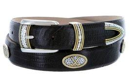 Golf Classic - Men's Italian Calfskin Designer Dress Belt with Golf Conchos (... - $39.55