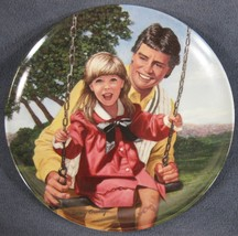 Swing Time A Father's Love Collector Plate Betsy Bradley COA Vintage - $14.97