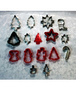 16-Piece Assorted Christmas Cookie Cutter Set - $10.88