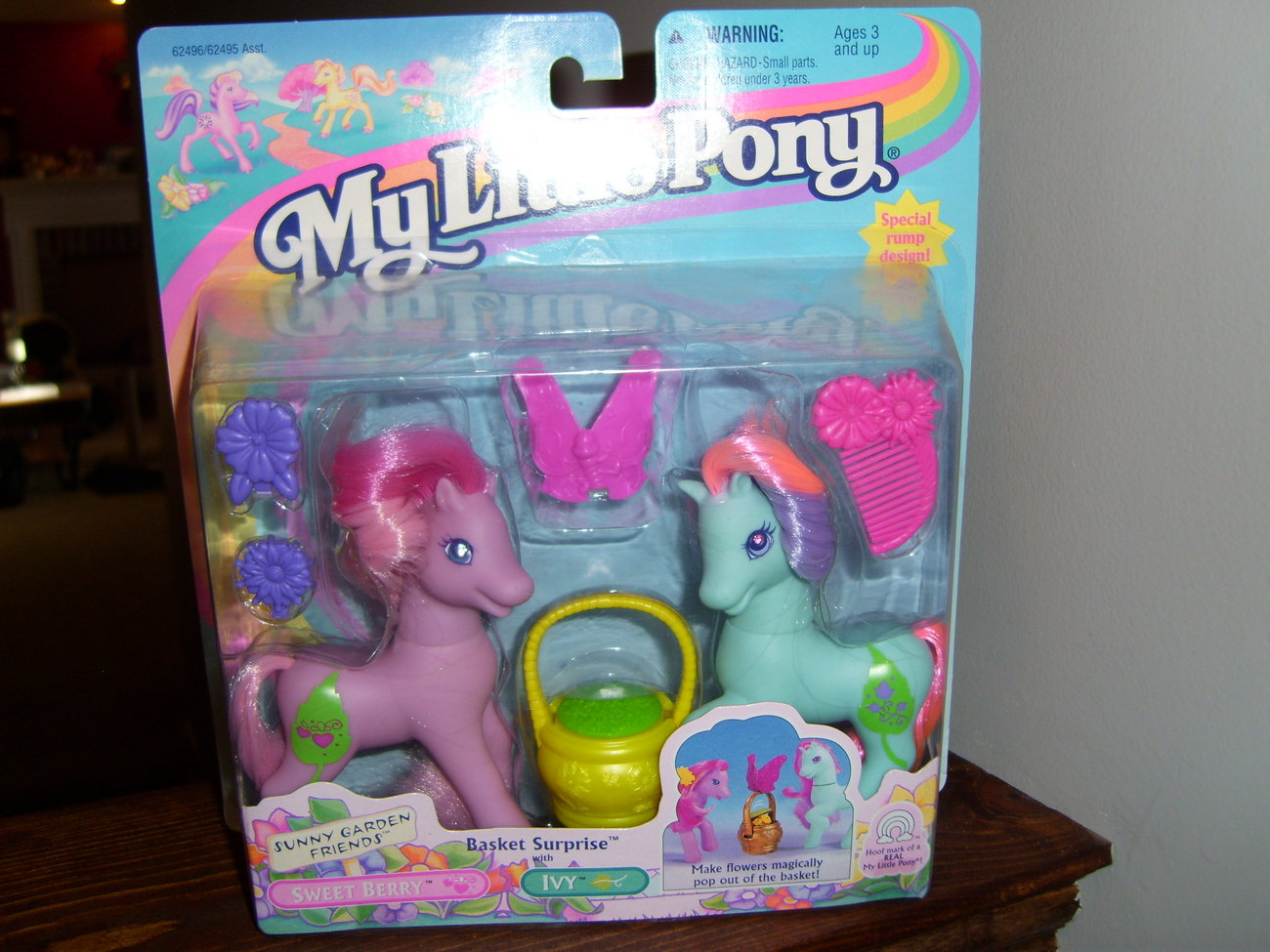 My Little Pony G2 MOC Basket Surprise with Ivy and Sweetberry
