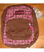 JanSport Superbreak Backpack Purple Pizzazz Picnic New - $32.00