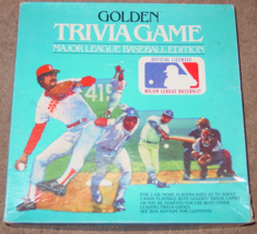 GOLDEN TRIVIA GAME MAJOR LEAGUE BASEBALL EDITION 1984 WESTERN COMPLETE - $15.00
