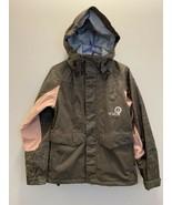 Volcom Womens Small Jacket Coat NIMBus 8000mm 5000gm Snow Ski Gray Pink - $70.08