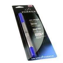 Parker 3022531 Refill for Roller Ball Pens, Medium, Blue Ink - $4.80