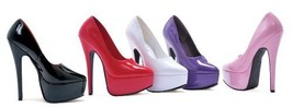 "Ellie Shoes Women's 652-PRINCE 6 1/2"" Heel Platform Pump,5 B(M) US,Red - $51.48"