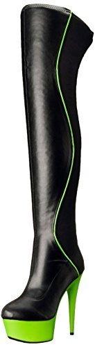 Ellie Shoes Women's 609-Unique Boot, Black, 8 B US