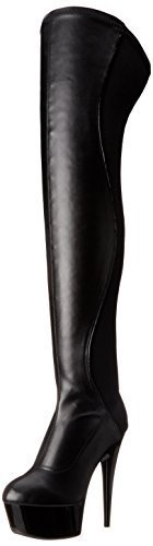 Ellie Shoes Women's 609-Unique Boot, Black, 9 B US