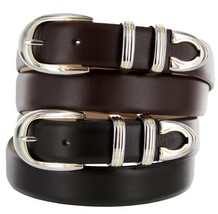 Coronado Italian Calfskin Leather Designer Dress Belts for Men (40, Alligator... - $29.20