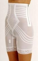 Rago Shapewear High-Waist Long Leg Pantie Girdle Style 6201 - White - XLarge - $47.52