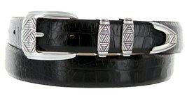 "Napa Men's Italian Calfskin Leather Designer Dress Golf Belt 1-1/8"" Wide (36,... - $24.70"