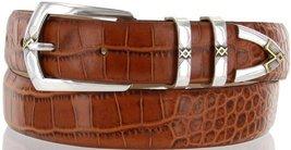 "St.Marks Italian Calfskin Leather Designer Dress Golf Belts for Men 1-1/8"" Wi... - $29.20"
