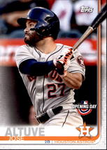 Jose Altuve 2019 Topps Opening Day Card #41 - $0.99