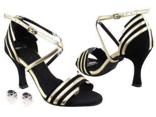 "Ladies Women Ballroom Dance Shoes Very Fine EKSA1700 SERA 2.5"" Heel with Heel..."