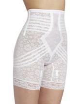 Rago Women's Plus-Size Hi Waist Long Leg Shaper, White, 4X-Large (38) - $33.44