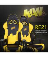 DXRacer OH/RE21/NY/NAVI High-Back Racing Seat Gaming Chair PU(Black/Yellow) - $379.00