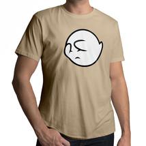 *NEW* Hiding Scared Boo Ghost Cute Nintendo Super Mario Cool T-Shirt Tee Size XL - $18.00