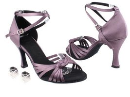 "Ladies Women Ballroom Dance Shoes Very Fine EKSA3780 SERA 2.5"" Heel with... - $65.95"