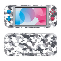 Gray Camouflage Nintendo Switch Skin for Nintendo Switch Lite Console  - $19.00