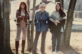 Linda Ronstadt and Dolly Parton Emmylou Harris legends pose 18x24 Poster - $23.99