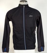 Asics Zip Front Black Water & Wind Resistant Running Jacket Men's NWT - $86.24