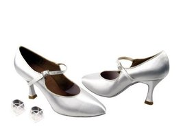 """Ladies Women Ballroom Dance Shoes from Very Fine CD5100M Pointed Toe 2.5"""" Hee... - $79.95"""