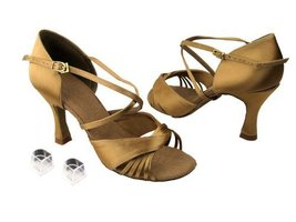 "Ladies Women Ballroom Dance Shoes Very Fine EKS92305 Signature 3"" Heel with H... - $75.95"