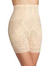 Rago Women's Plus-Size Hi Waist Long Leg Shaper, Beige, 8X-Large (46) - $46.33
