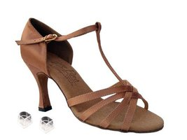 "Ladies Women Ballroom Dance Shoes Very Fine EKS9235 Signature 3"" Heel with He... - $75.95"