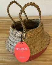 "Decorative Pop Up Belly Basket Natural Purple 8.85""x8"" - Opalhouse™ - £6.26 GBP"
