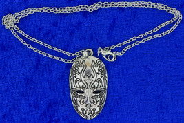 Bellatrix Mask Necklace or Keychain Venetian Masquerade Chain Choice - $4.99+