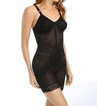 Rago Shapewear Body Briefer / Body Shaper Style 9071 - Black - 38DD - $58.81