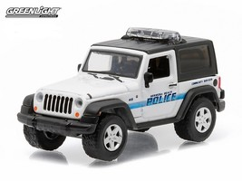 Greenlight Hot Pursuit, 2007 Jeep Wrangler. Hermosa Beach Police 1:64 Sc... - $9.99