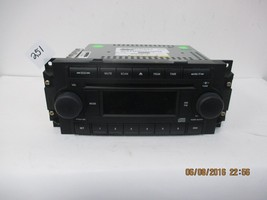 2005-07 Chrysler Dodge Ram Truck CD Radio P05091710AC - $77.35
