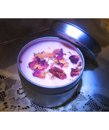 Haunted FULL COVEN CAST BRING FORTH LOVE CANDLE CHERRY BLOSSOM ROSE MAGICK  - $30.77