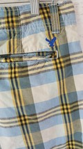 American Eagle Outfitters Men's shorts size 32  plaid board casual khaki... - $5.89