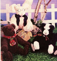 "McCall's 2507 Little City Bears & Company Pattern 13"" Jointed Bear, Rabb... - $7.95"