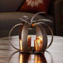 10015462 Accent Plus Autumn Pumpkin Candle Display  - $14.95