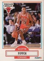 Scottie Pippen 1990 91 Fleer # 30 - $1.24