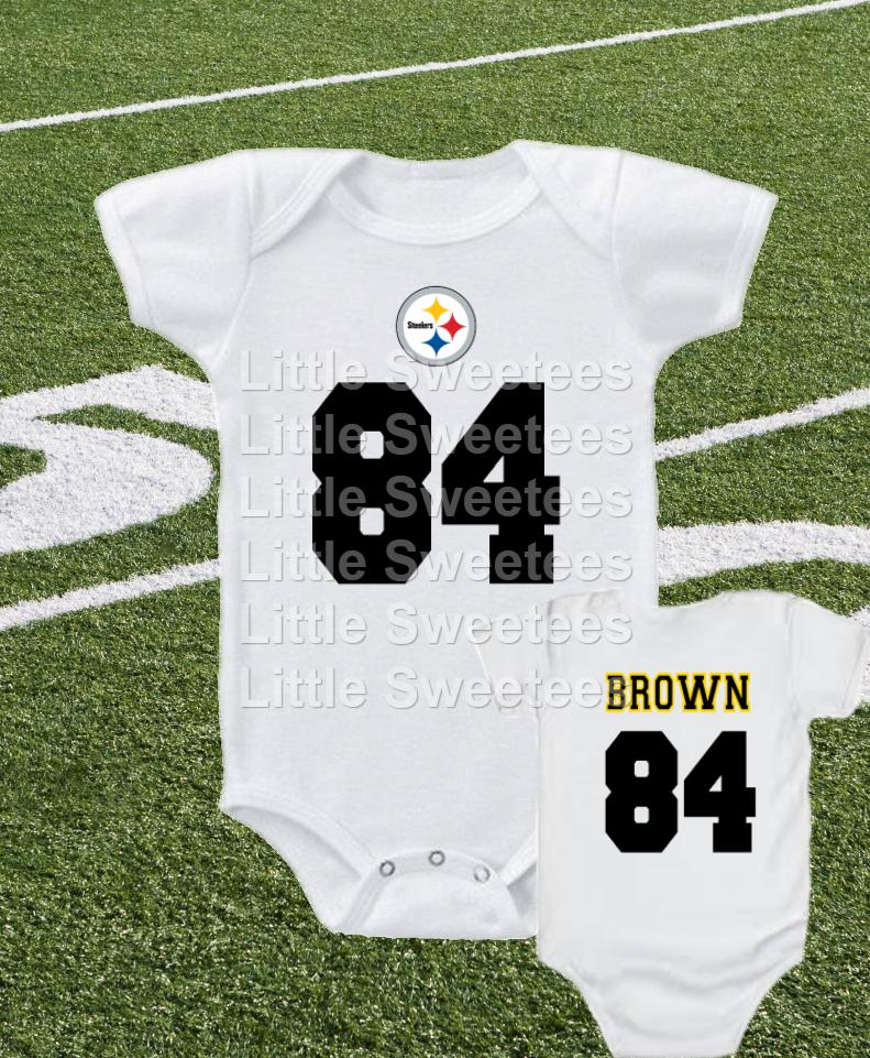 antonio brown baby jersey