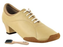 Very Fine Ladies Women Ballroom Dance Shoes EKCD1121 Split Sole Nude Lea... - $79.95
