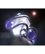 HAUNTED RING ALEXANDRIAS SEVEN WANDS EXTREME MAGICK MYSTICAL TREASURE MA... - $223.33
