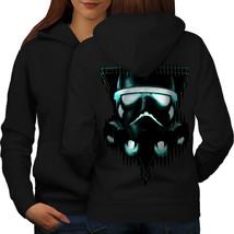 Storm Trooper Star Sweatshirt Hoody Wars Print Women Hoodie Back - $21.99+
