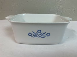 Corning Ware Blue Cornflower 1 1/2 Qt P-4-B Rectangle Dish Loaf Pan **no... - $9.46
