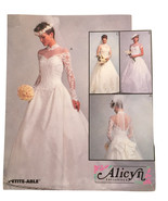 McCall's Alicyn Exclusives Bridal Gowns, Sweetheart Neckline, 3 Sleeve O... - $10.00