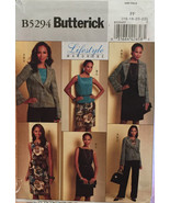 Butterick Lifestyle Wardrobe Pattern 5294 Women's  Skirt, Pants, Jacket,... - $8.00