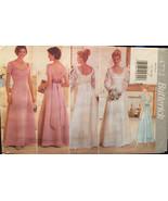Butterick Wedding Gown 4772, Bridesmaid Dress,Princess Seams,Sweetheart ... - $10.00